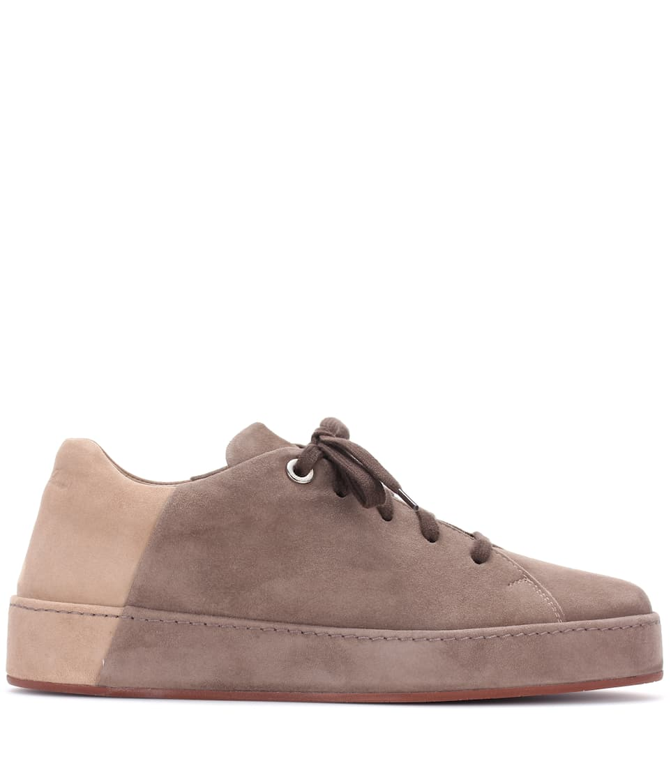 Loro Piana Sneakers Nuages aus Veloursleder