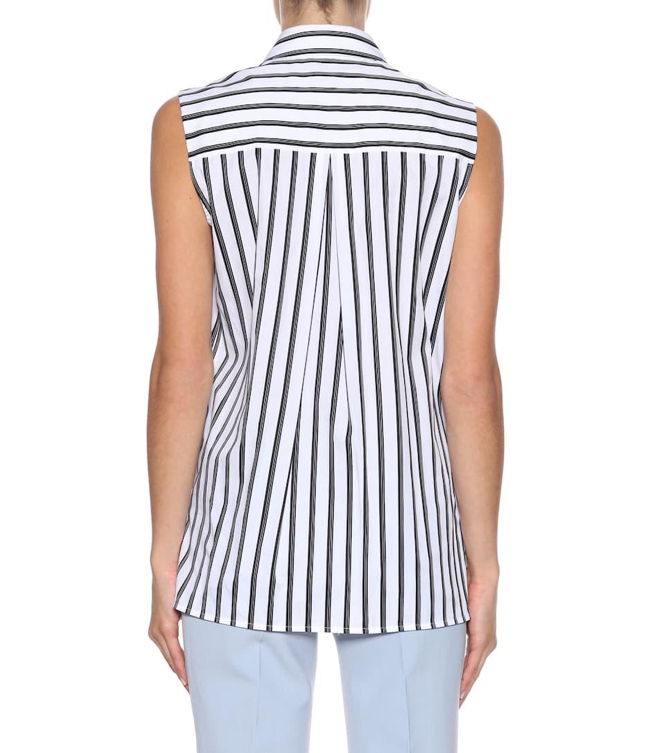 Victoria Victoria Beckham Asymmetrisches Top aus Baumwolle