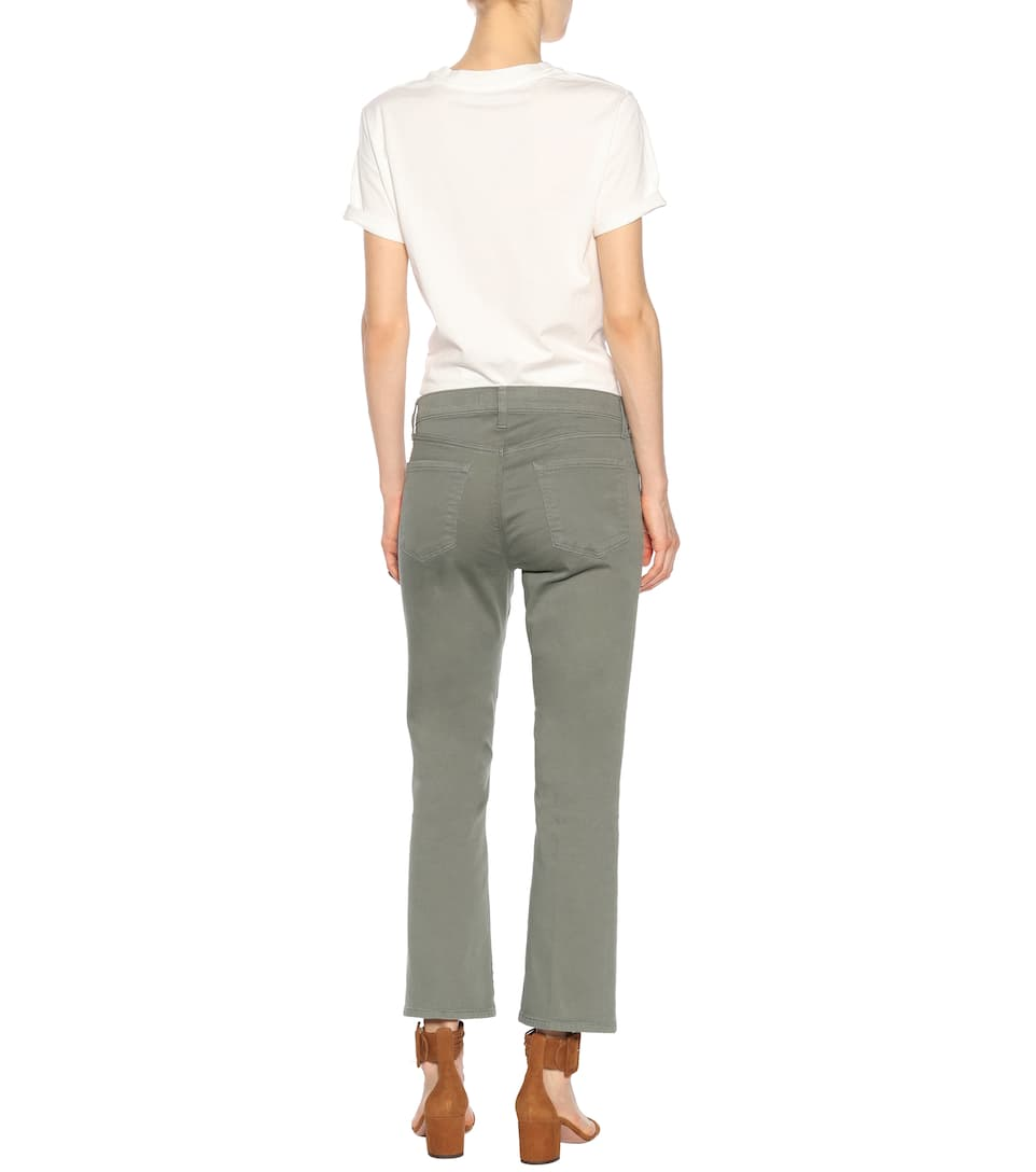 J Brand Mid-rise Bootcut Jeans Selena