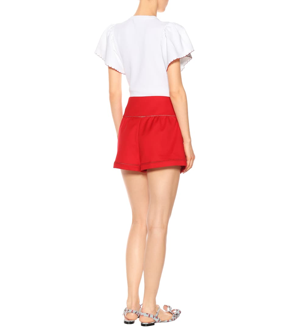 REDValentino Cady shorts Red Free Shipping Cheap Price qUQuf