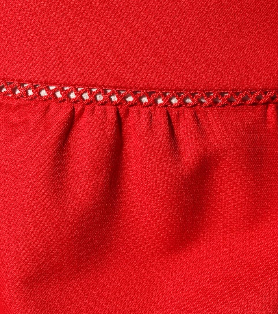 REDValentino Shorts aus Cady