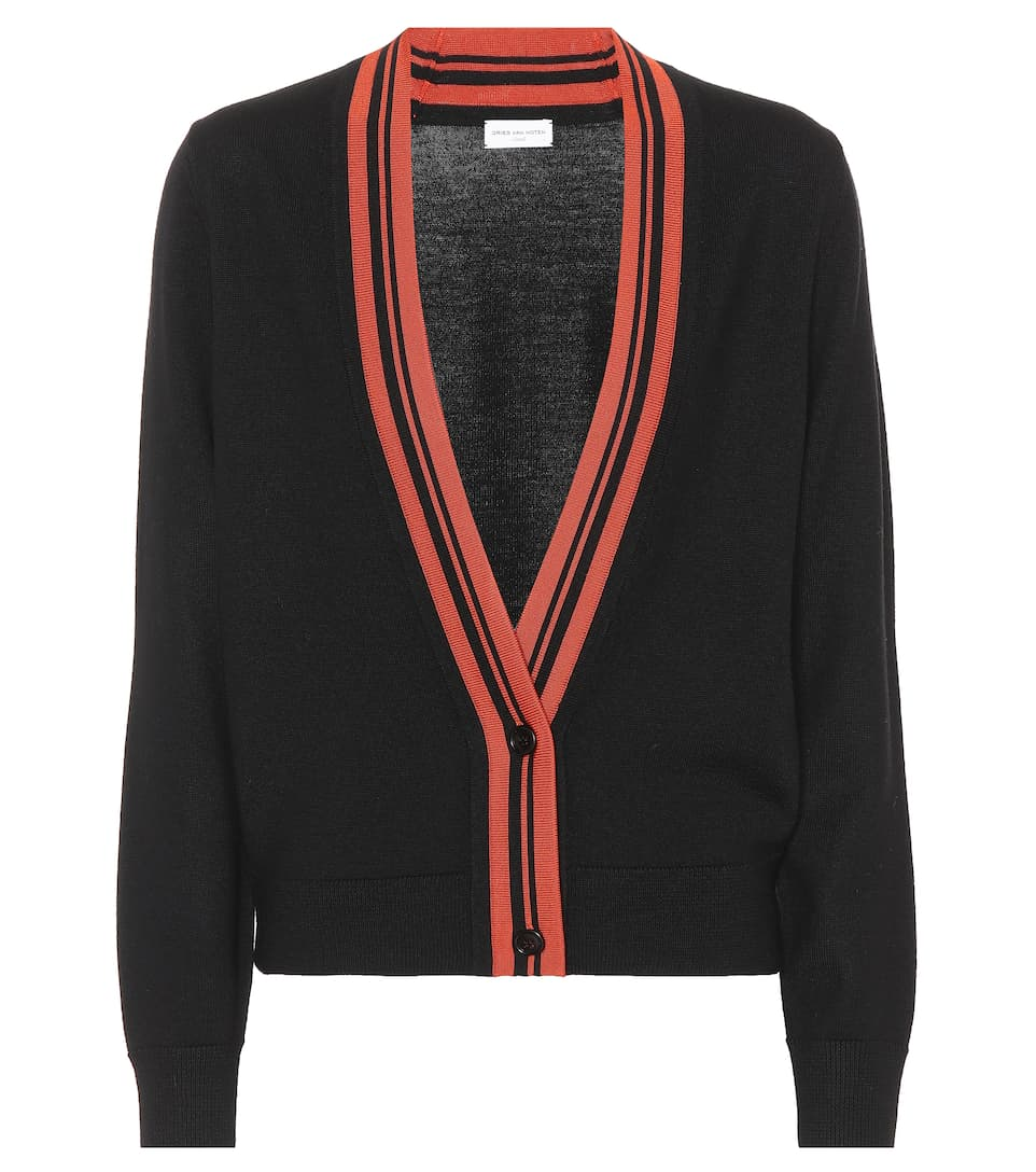 Dries Van Noten Cardigan aus Wolle