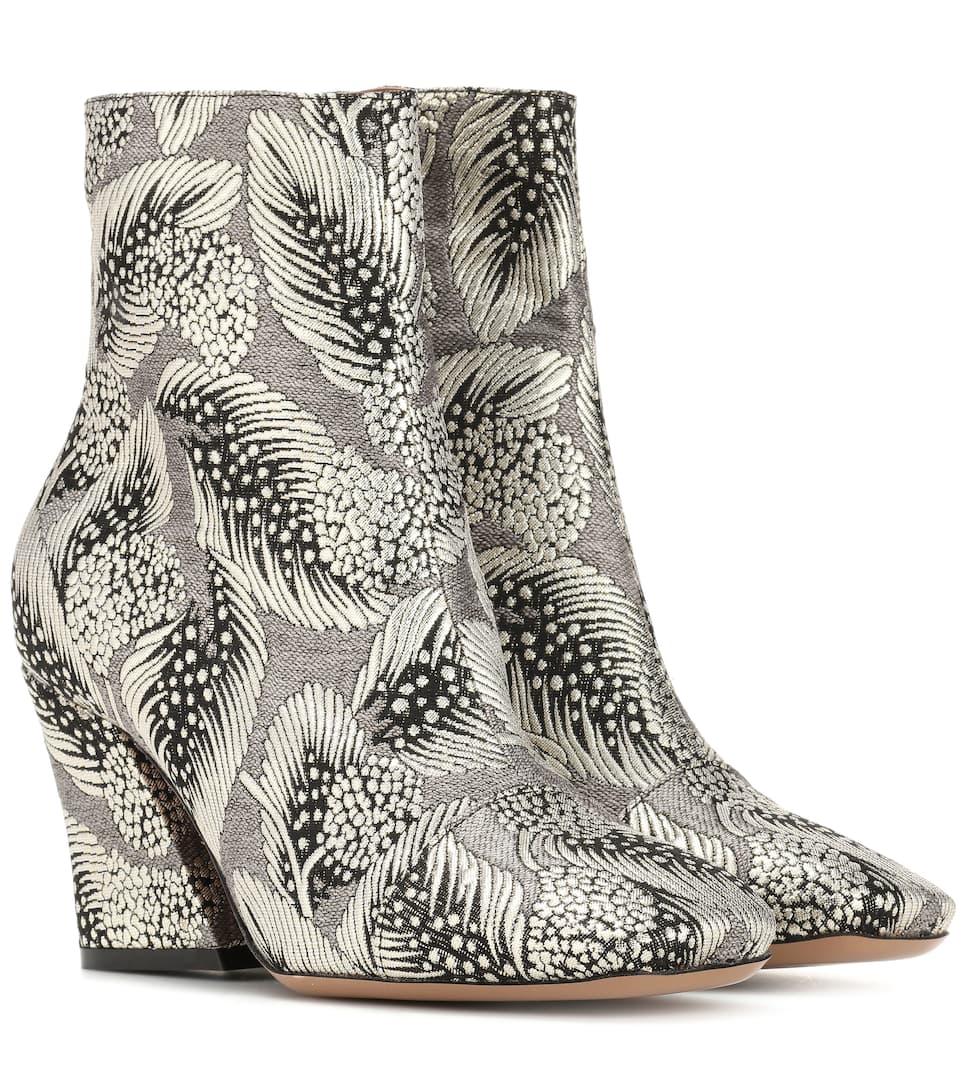 a3d0facfc3 Brocade Ankle Boots