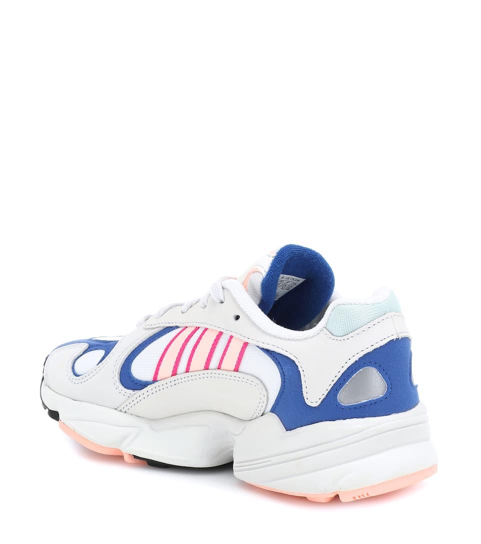 Adidas 1 Daim Originals En Et Yung ToileCuir Baskets 0OyNnwv8m