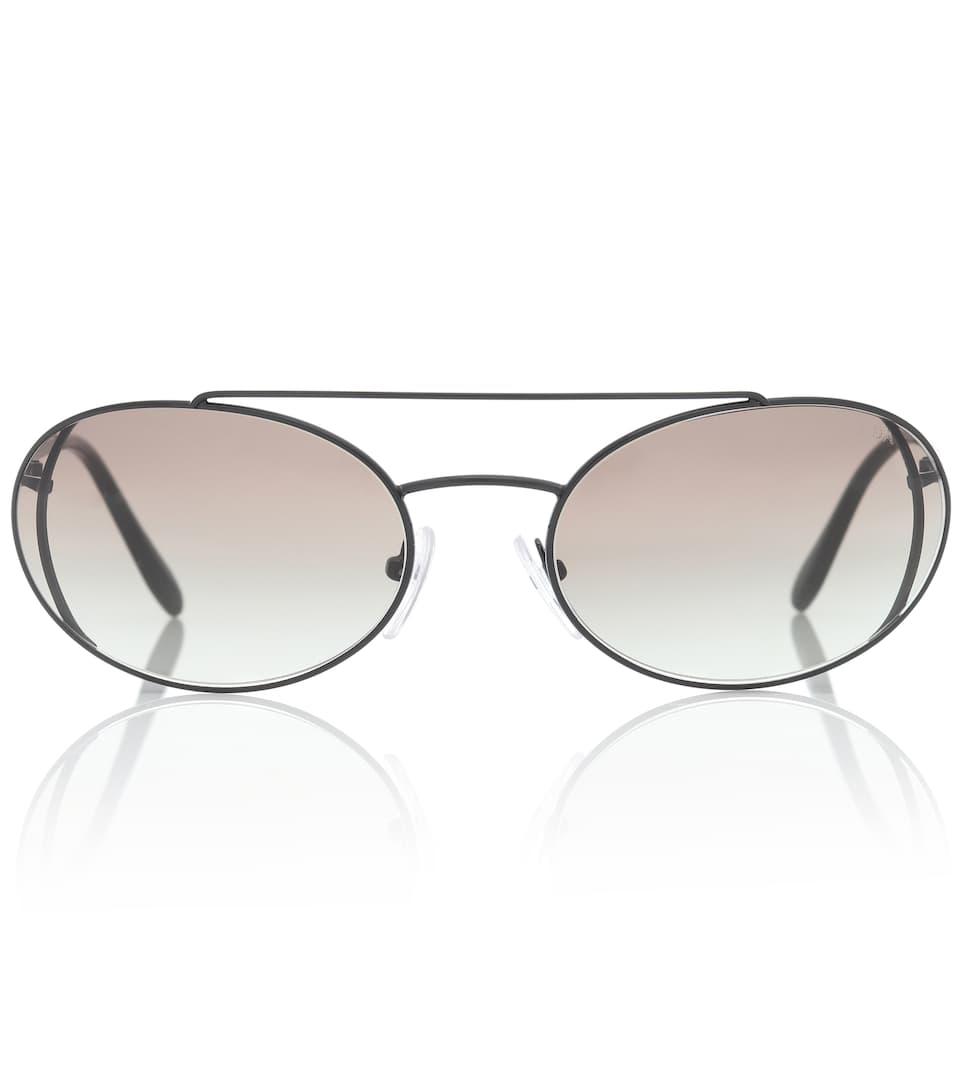 44b21f897c71 Catwalk Oval Sunglasses | Prada - mytheresa.com