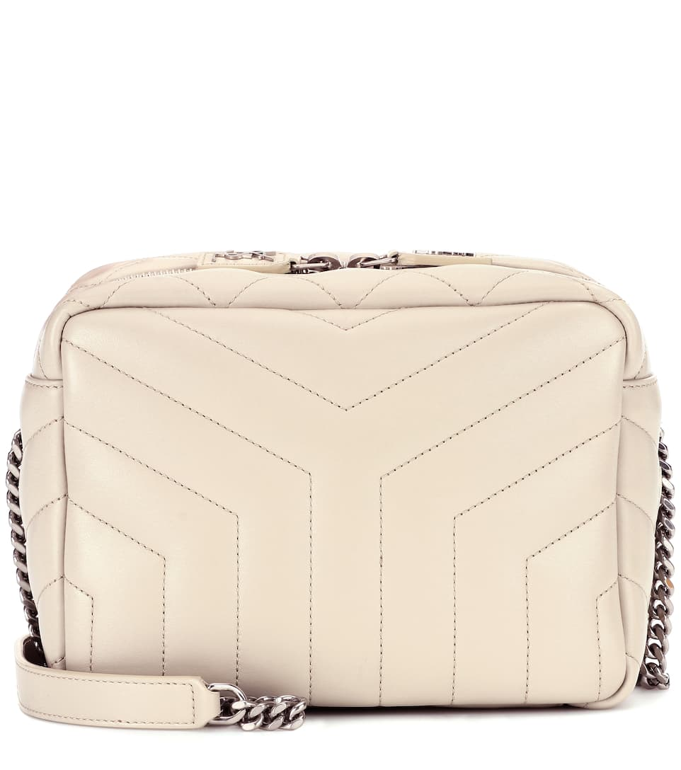 42956eaecfb9 Saint Laurent Small Loulou Bowling Shoulder Bag