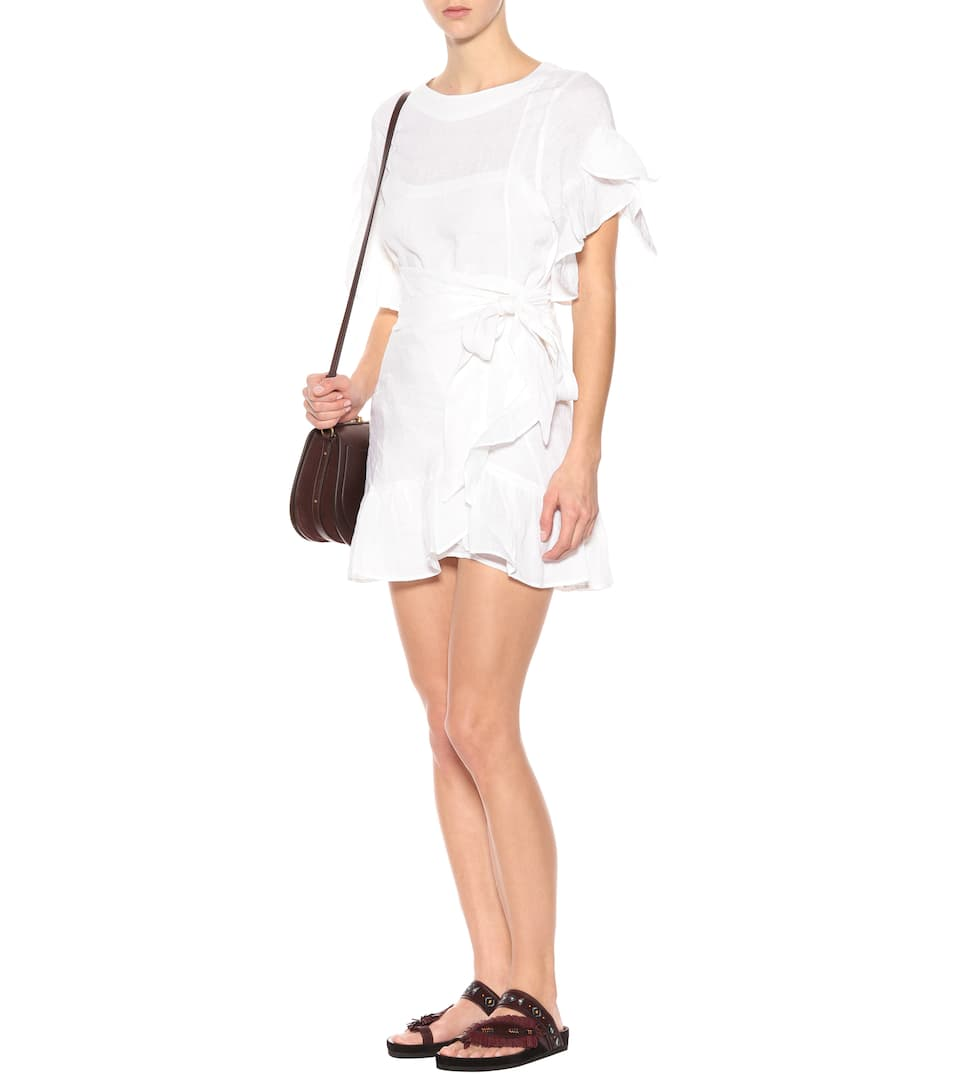 Isabel Marant, Étoile Mini Dress Delicia Of Linen