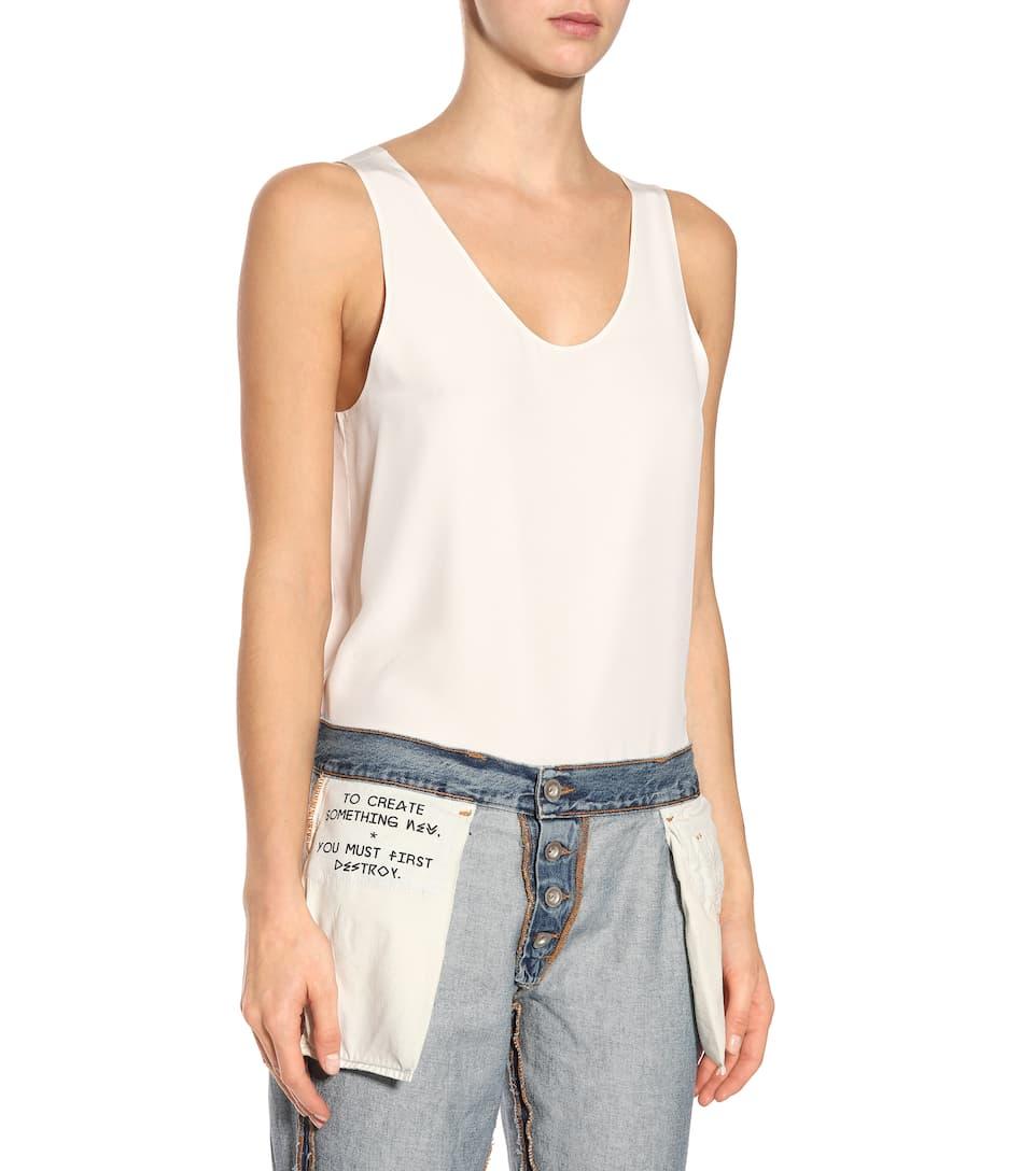Unravel Jeans Inside Out Reverse aus Baumwoll-Denim