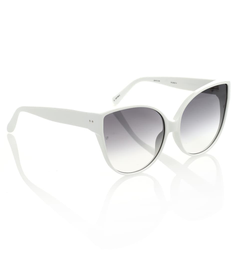 Pour Le Prix Pas Cher 656 C12 Cat-Eye Sunglasses - Linda Farrow Acheter Pas Cher Visite Nouvelle Prix Pas Cher: Achat Achats En Ligne En Vente Vente Large Gamme De XvhVhpINY
