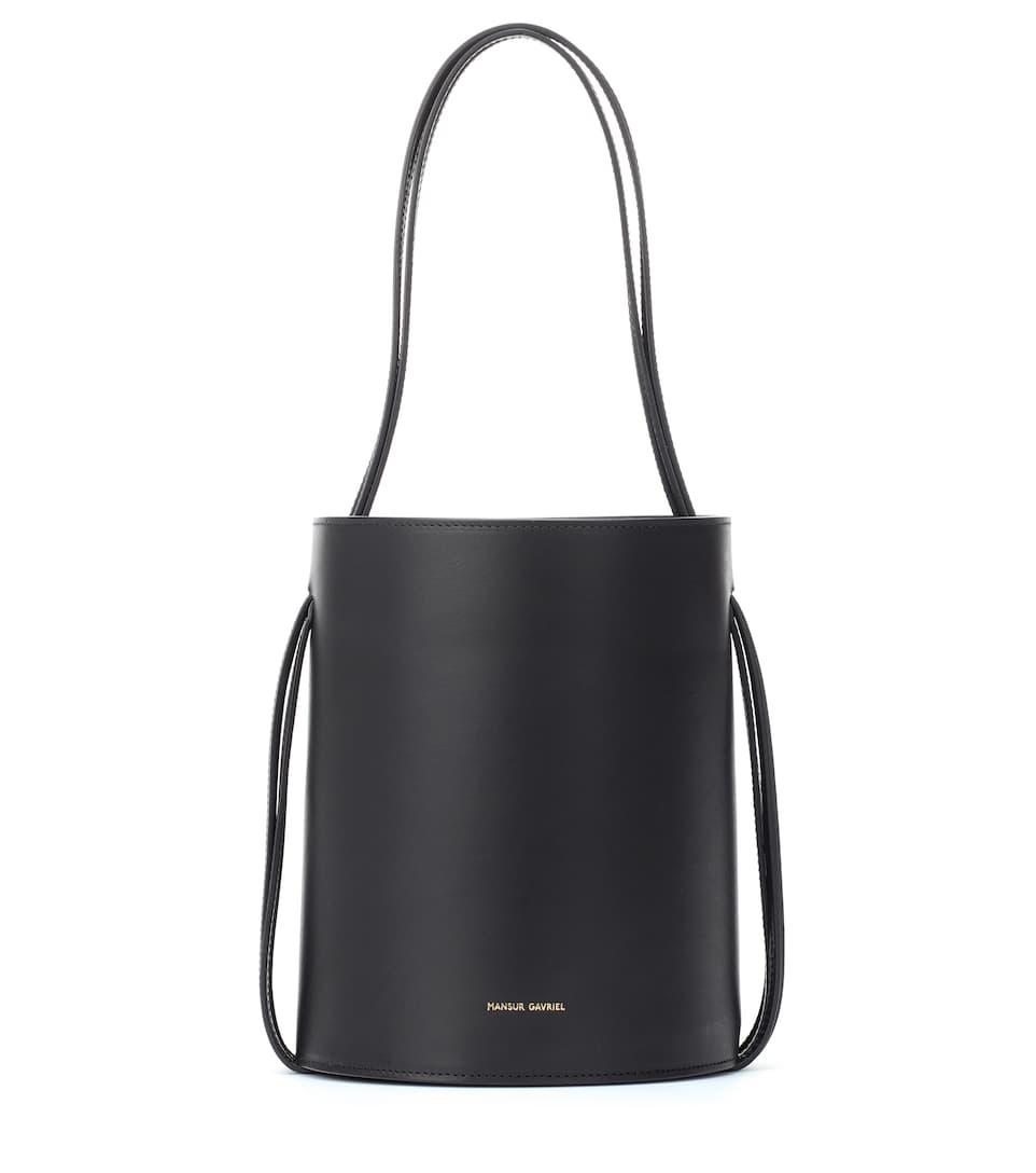 789a2d74619b Mansur Gavriel - Fringe leather bucket bag