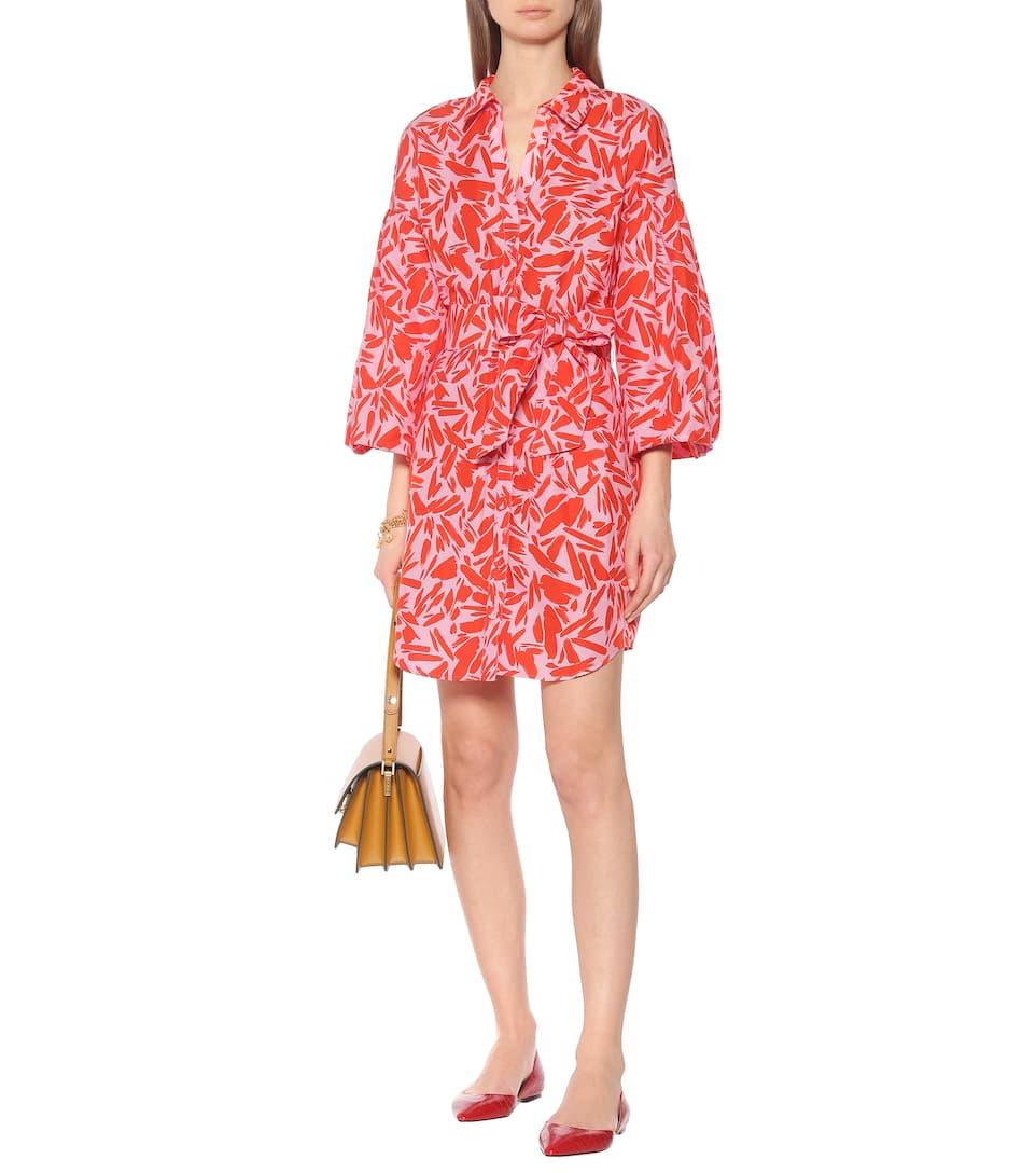 Samy cotton and silk shirt dress