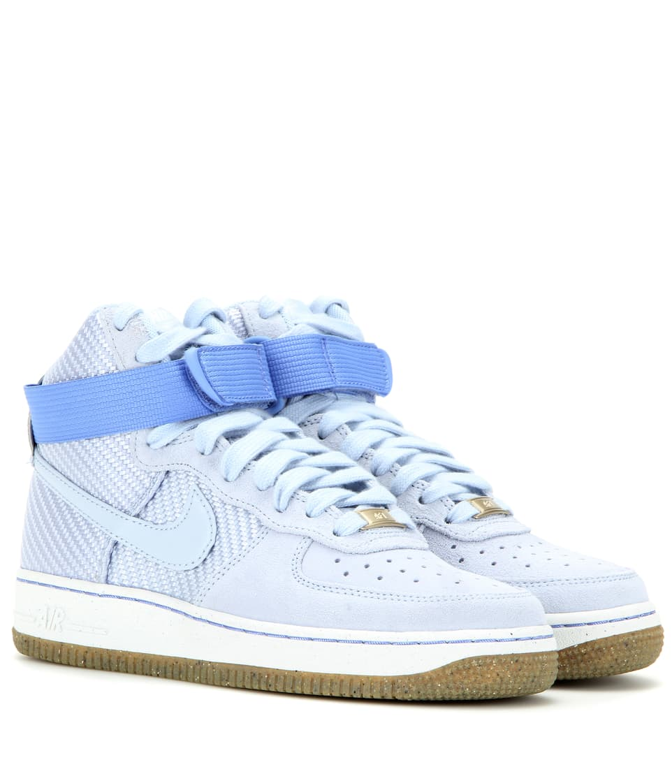 Nike - Baskets montantes en daim et toile Nike Air Force 1 High Premium | Mytheresa