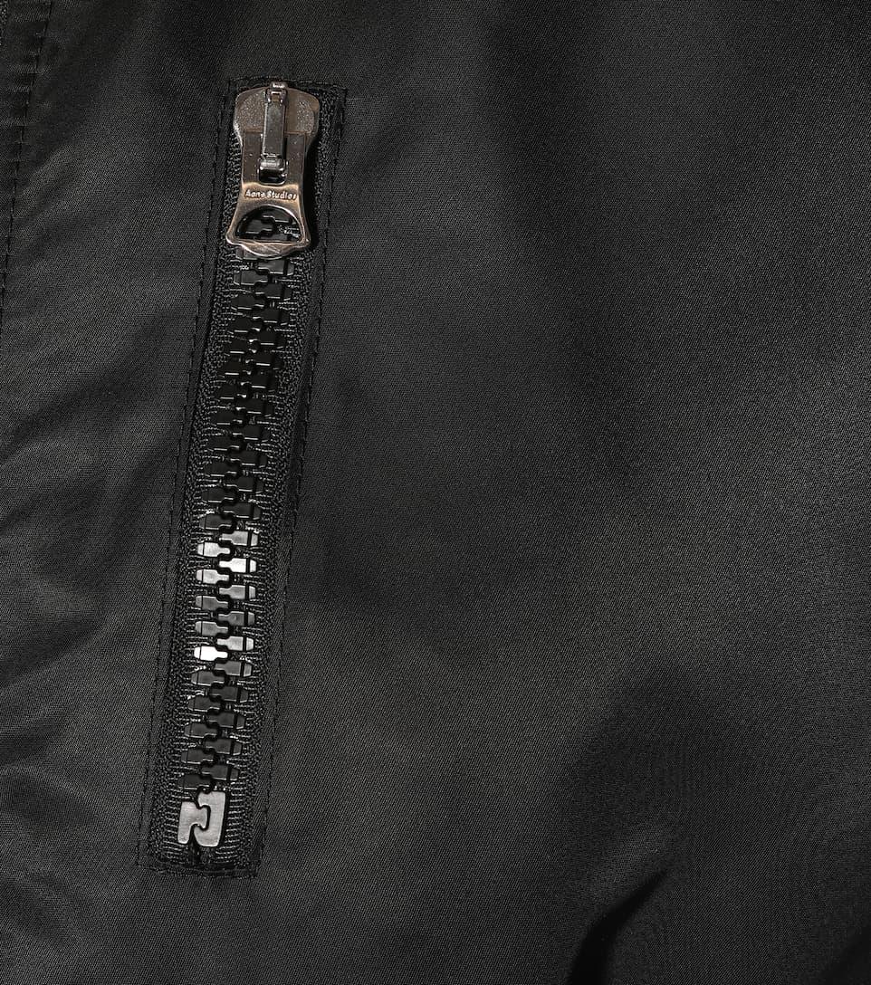 negra Cazadora bomber Studios reversible Aila Acne X7Xx6