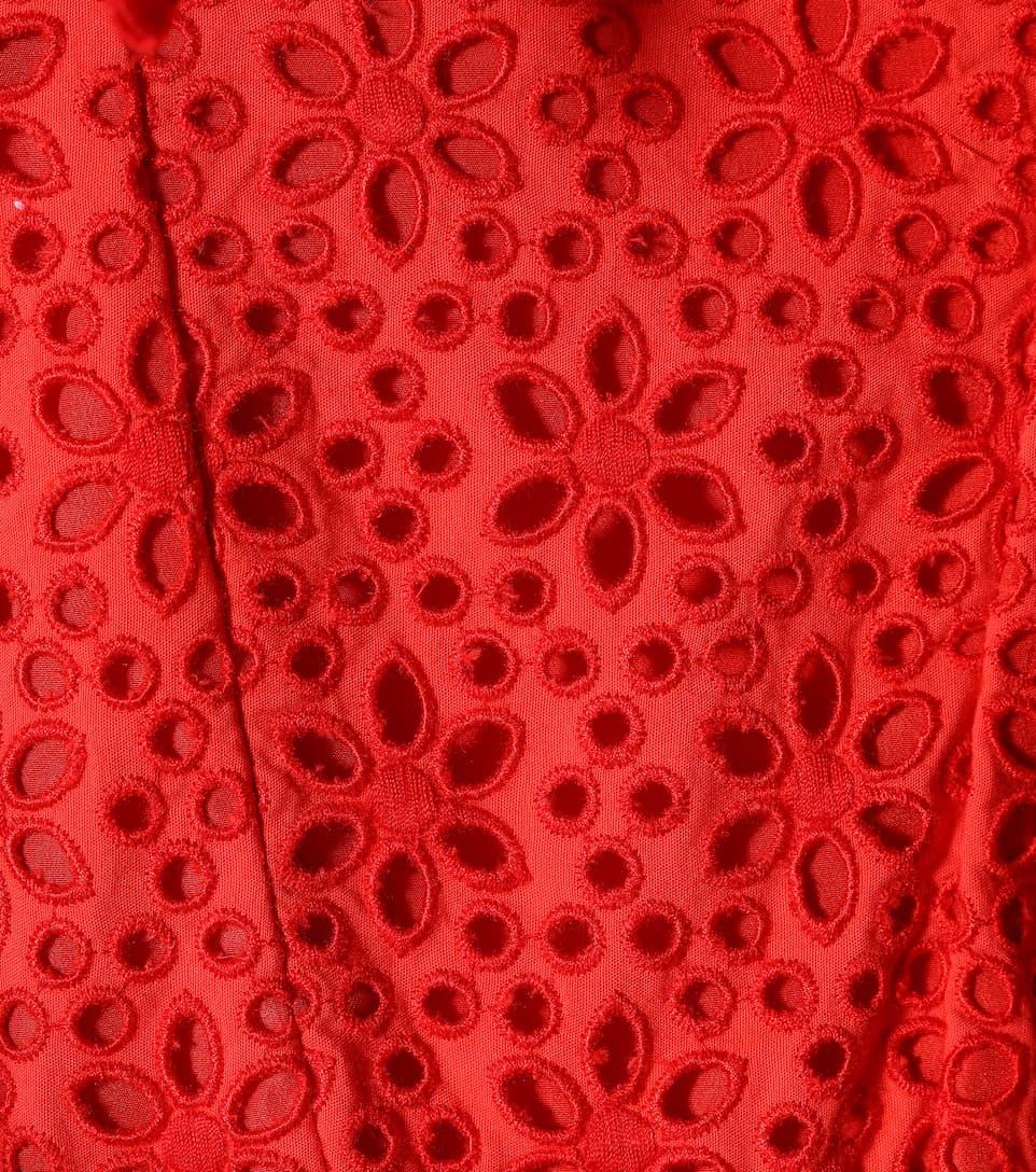 MSGM Midikleid aus Baumwolle