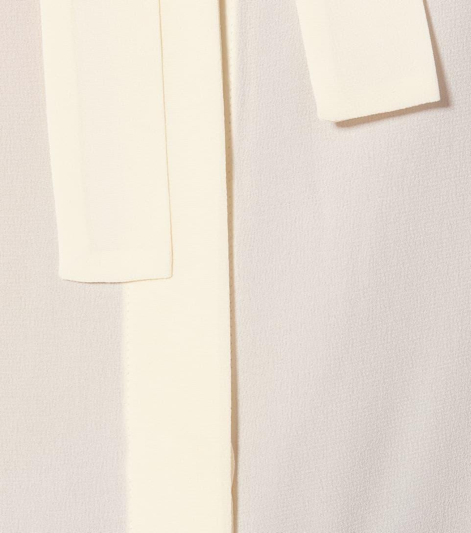Etro - Silk-crêpe blouse
