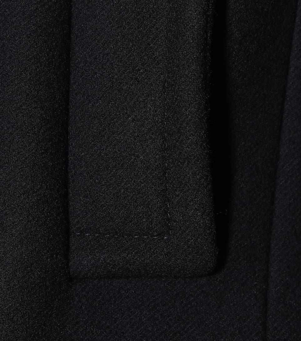 de lana Bleu de abrigo Miu Miu WOvYZZ