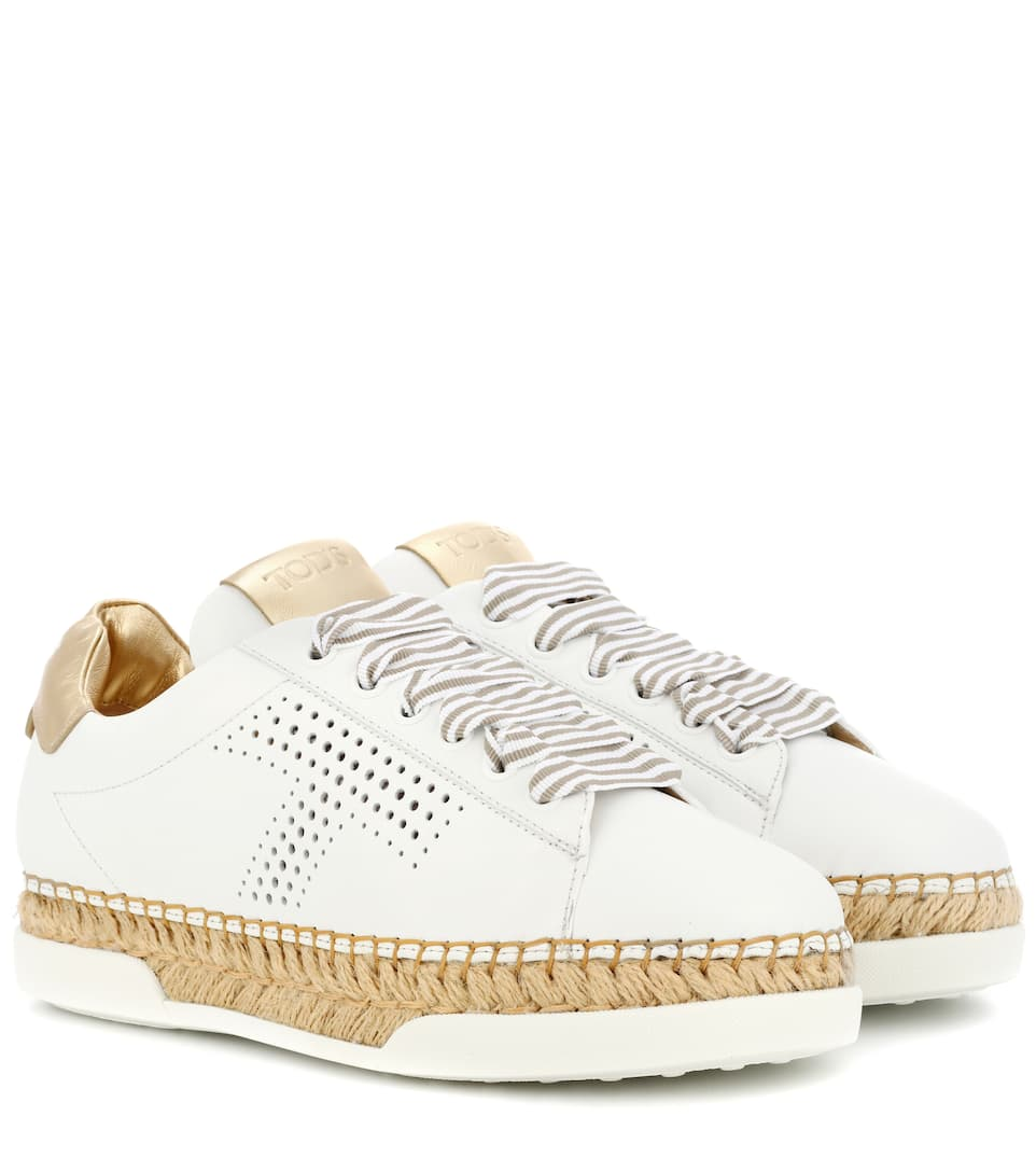 Tod's Gomma leather sneakers 2018 Newest Cheap Online Big Sale All Seasons Available Cheapest Price For Sale Best Prices lfAUTmr0