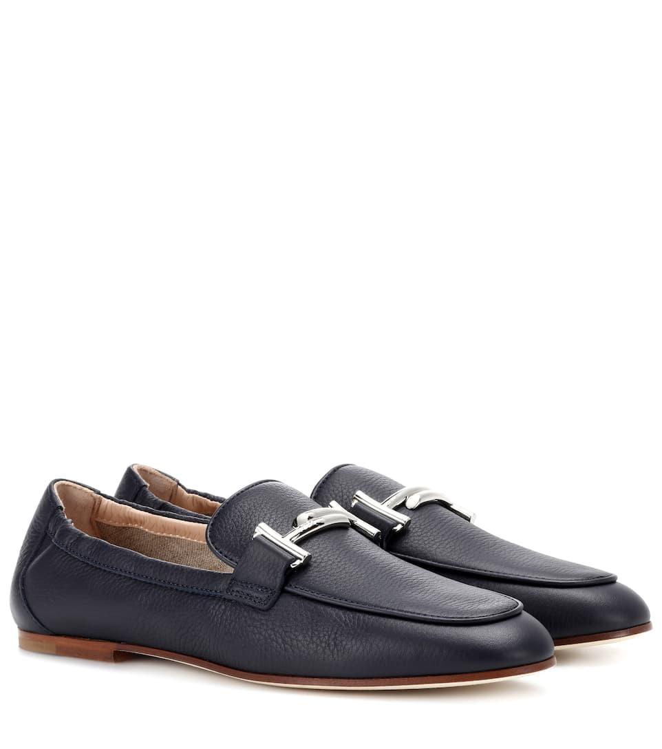 Tod's Loafers Double T aus Leder