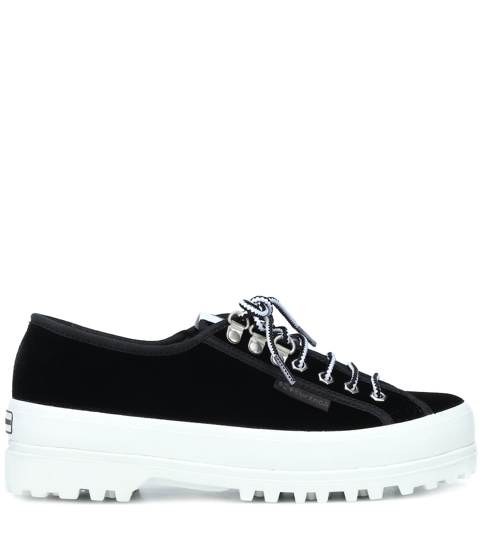 Alexachung X Superga Mytheresa Low Velluto Griffith Sneaker In 44qwrp