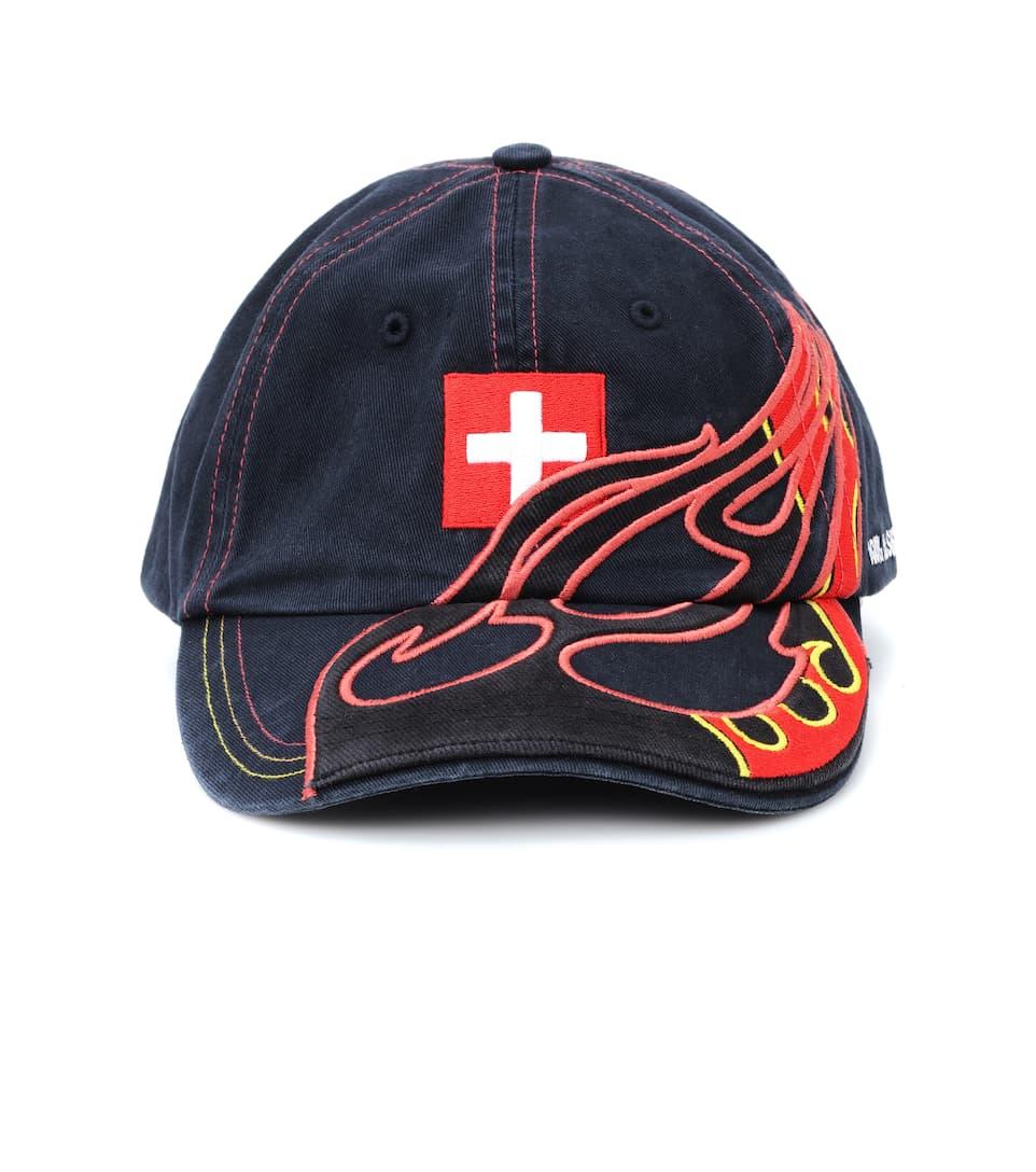 017c4d8d2b851b X Reebok Embroidered Baseball Cap - Vetements   mytheresa