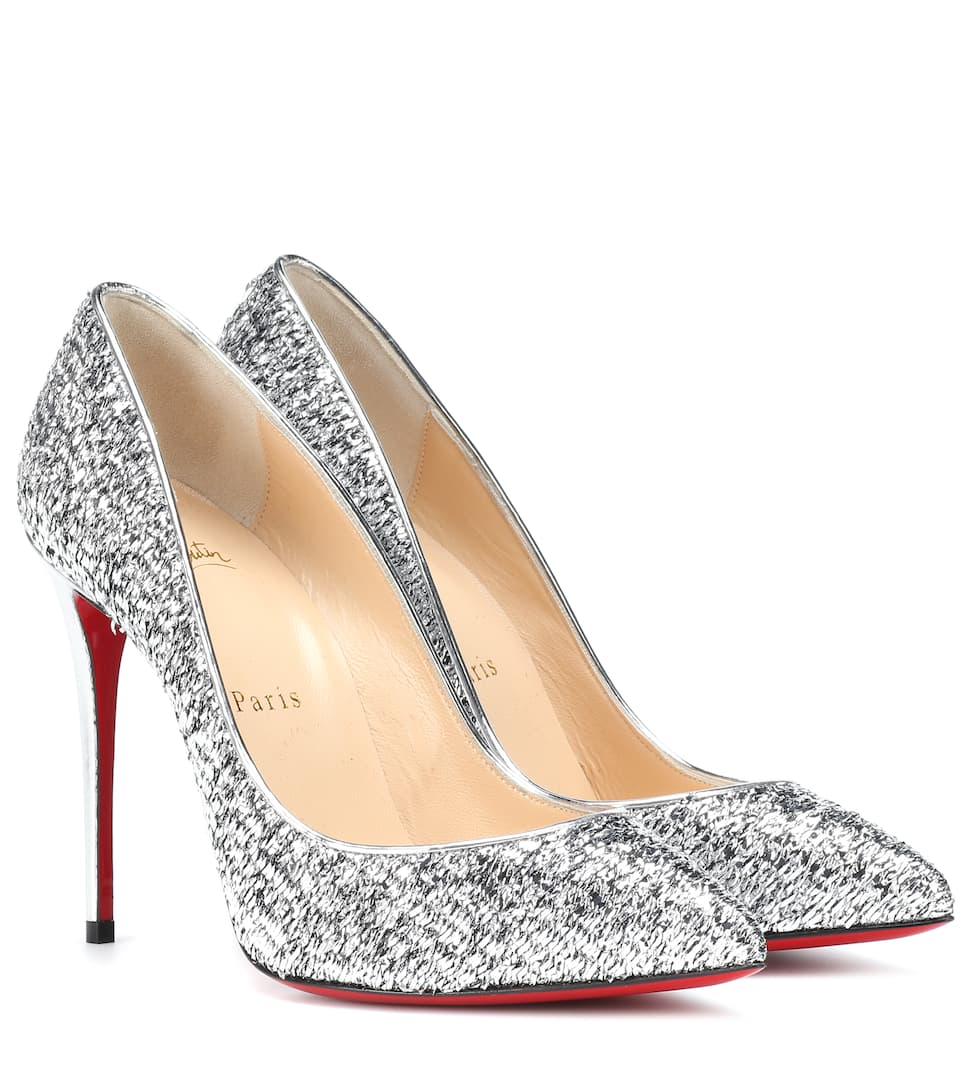 check out 02270 9c423 Pigalle Follies 100 metallic pumps