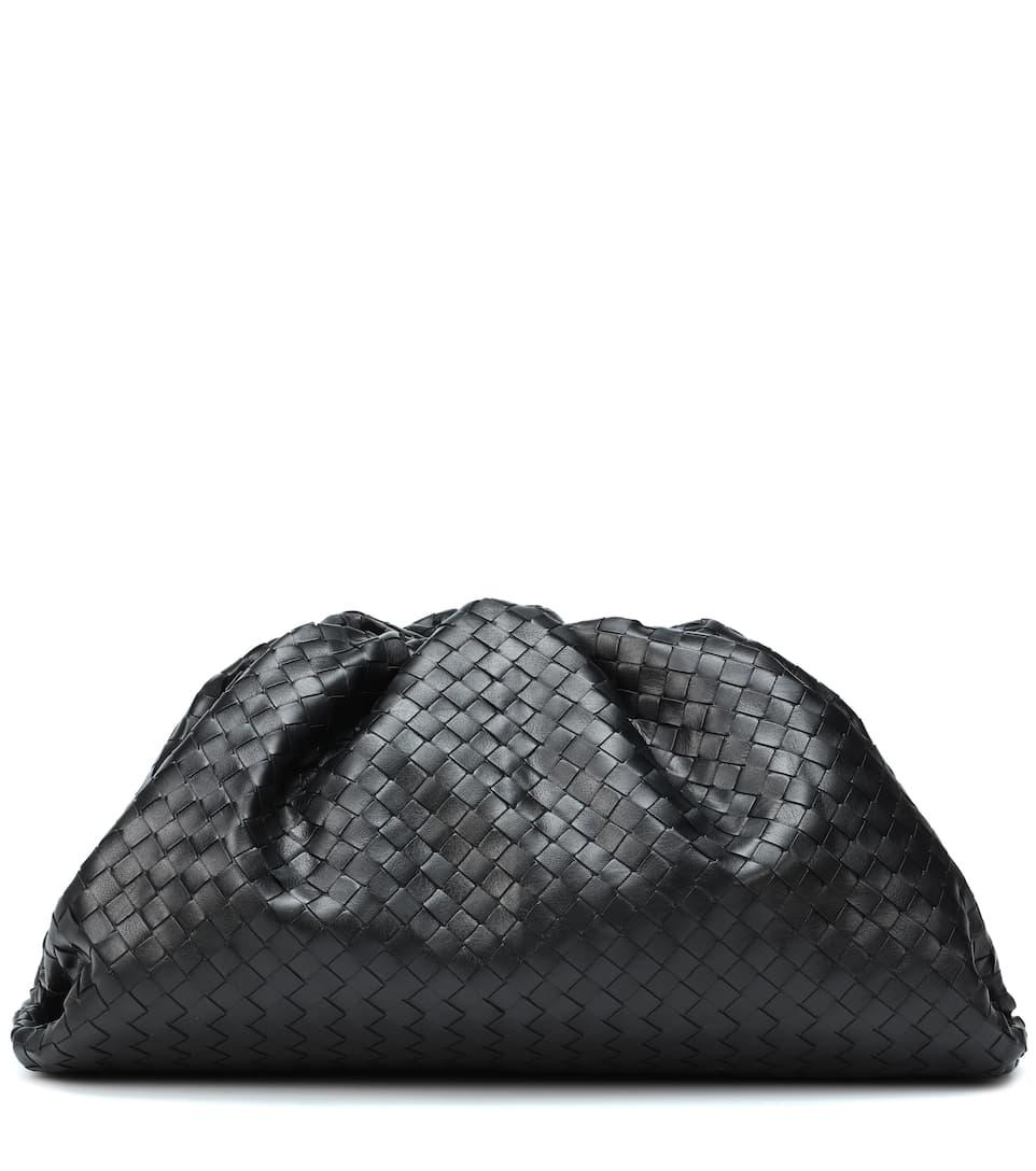 The Pouch Intrecciato Leather Clutch - Bottega Veneta  7fc7c2ebd9904