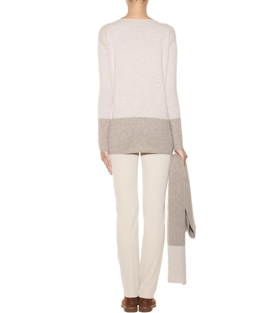 Loro Piana Pullover aus Cashmere mit Schal