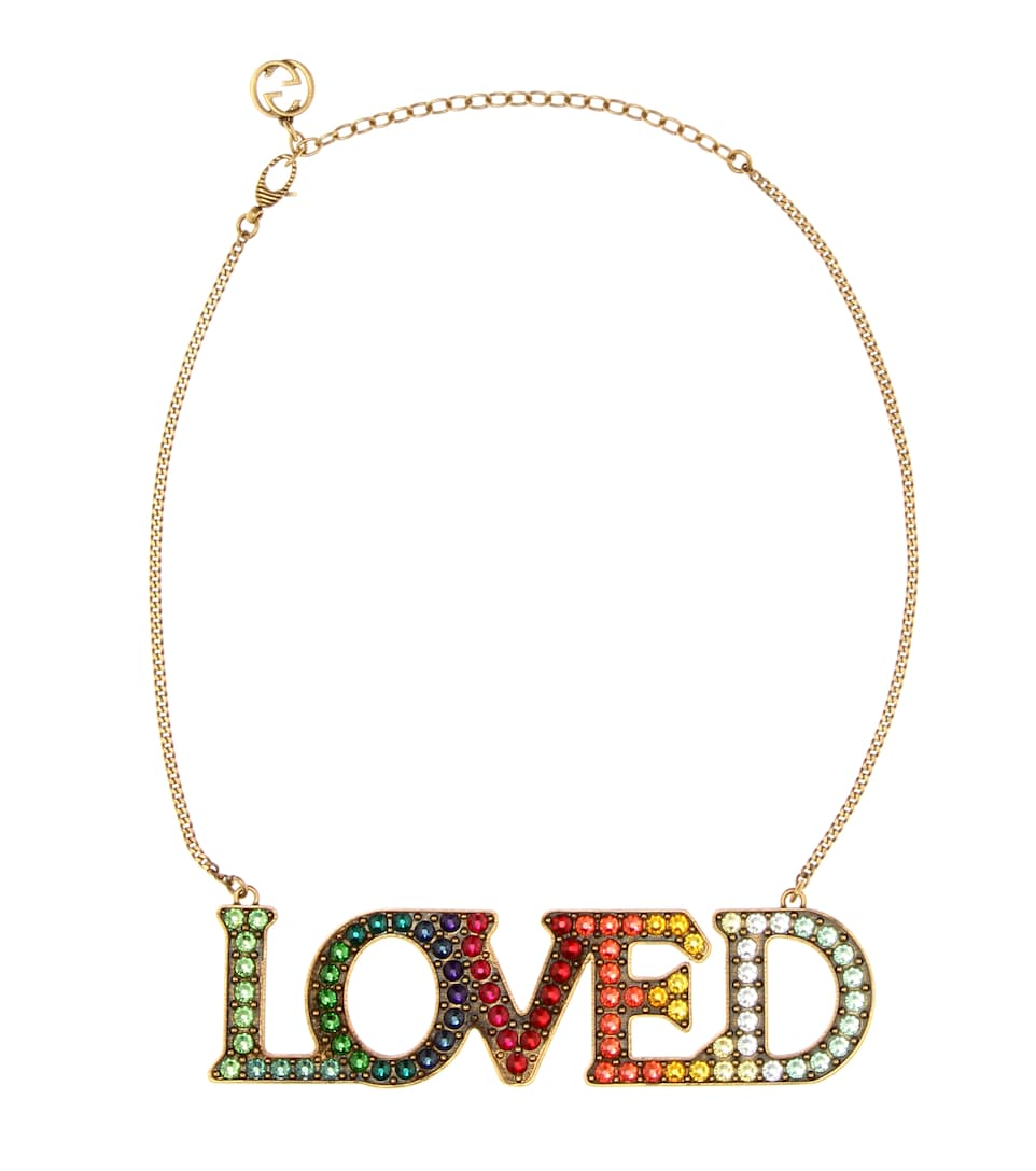 049fa621292 Gucci - Loved embellished necklace