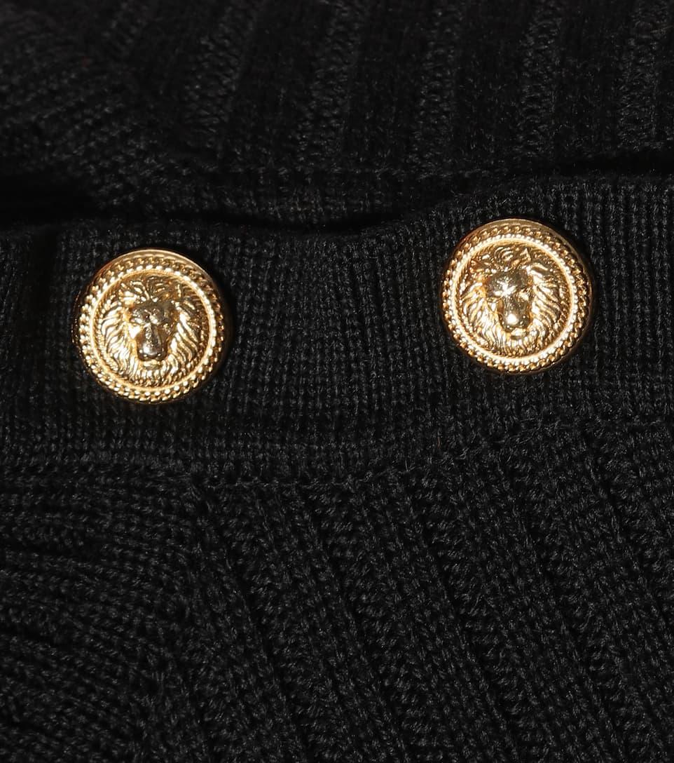 Balmain Strickkleid aus Wolle