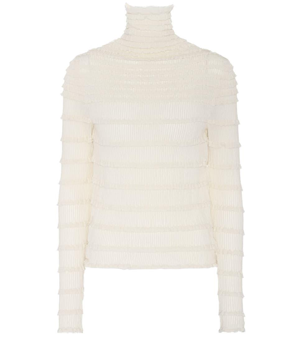Valentino Strickpullover aus einem Baumwollgemisch