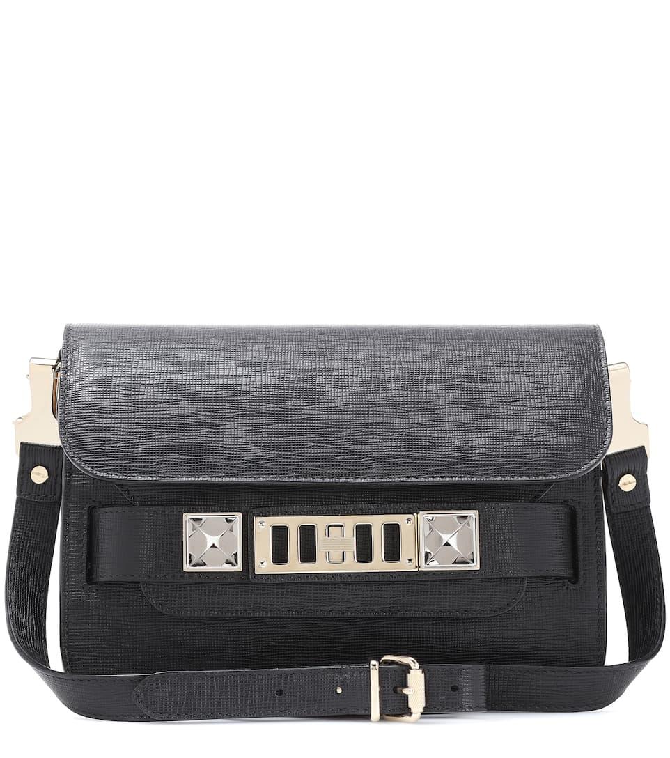 23fefec849ed Proenza Schouler Ps11 Mini Classic Leather Shoulder Bag In Llack ...