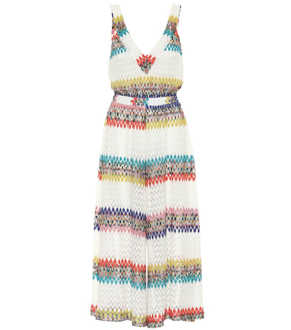 Missoni Mare Striped crochet dress Multi Outlet Classic Big Sale Sale Online Cheap Pick A Best P8rOyA8