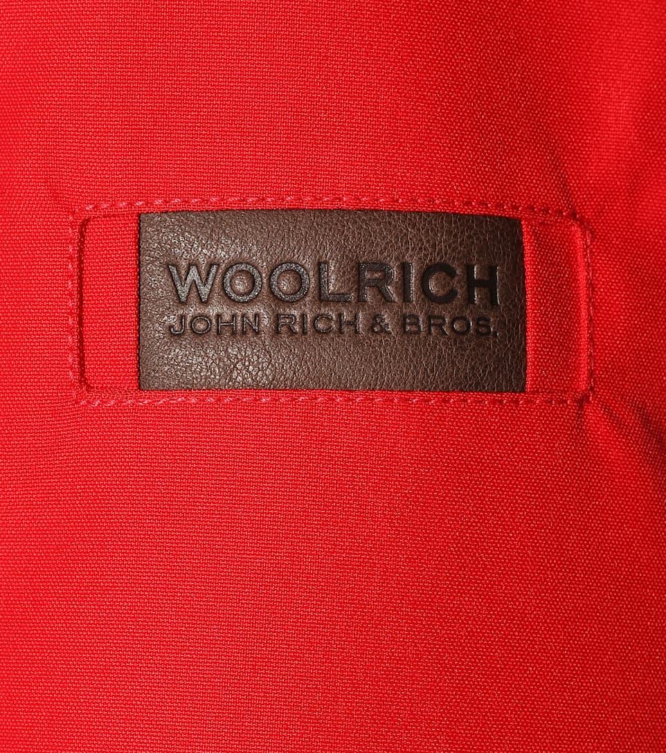 Woolrich Pelliccia Rosso Donna Con Parka Saranac 1wwz8xRv