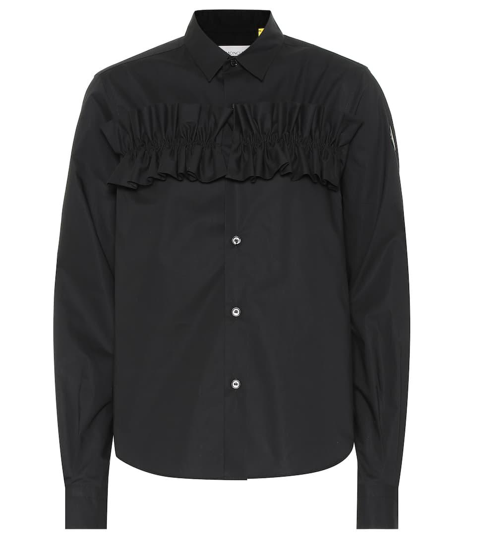 6 MONCLER NOIR KEI NINOMIYA Hemd aus Baumwolle