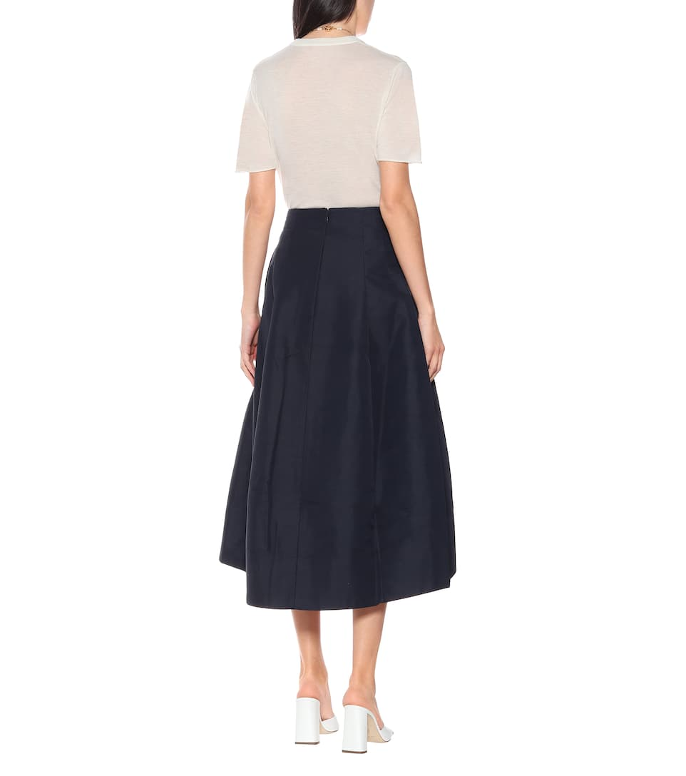 Co - A-line midi skirt