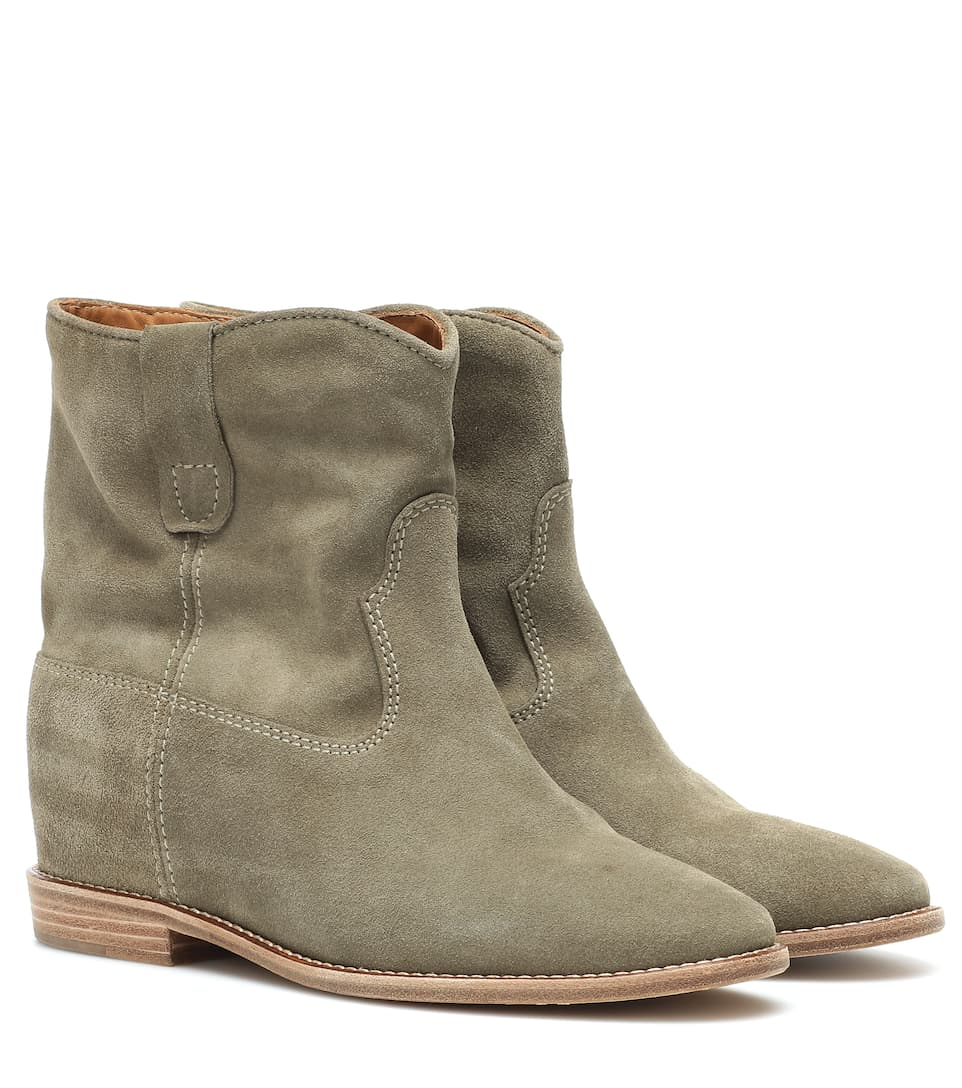 Exclusivité mytheresa.com - Bottines en daim CrisiIsabel Marant 5eCzJ
