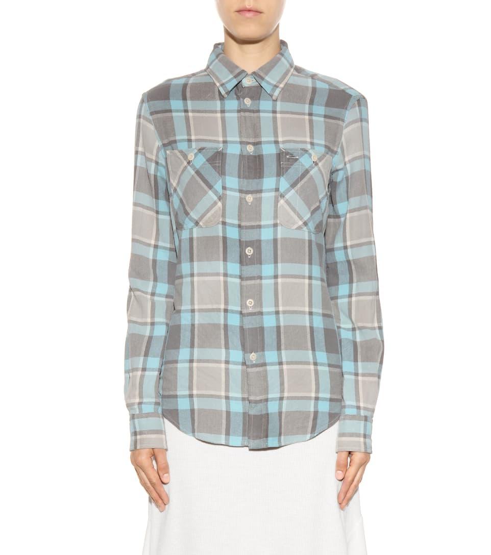 Polo ralph lauren plaid button down shirt fall aqua for Polo ralph lauren casual button down shirts