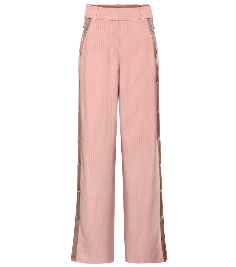 wide leg trousers - Pink & Purple Sies Marjan YQfPKHSWFU