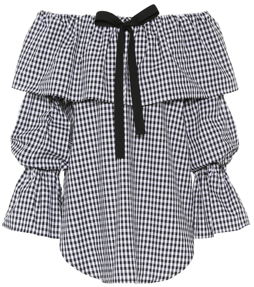 Rejina Pyo Off-Shoulder-Top Clara aus Baumwolle