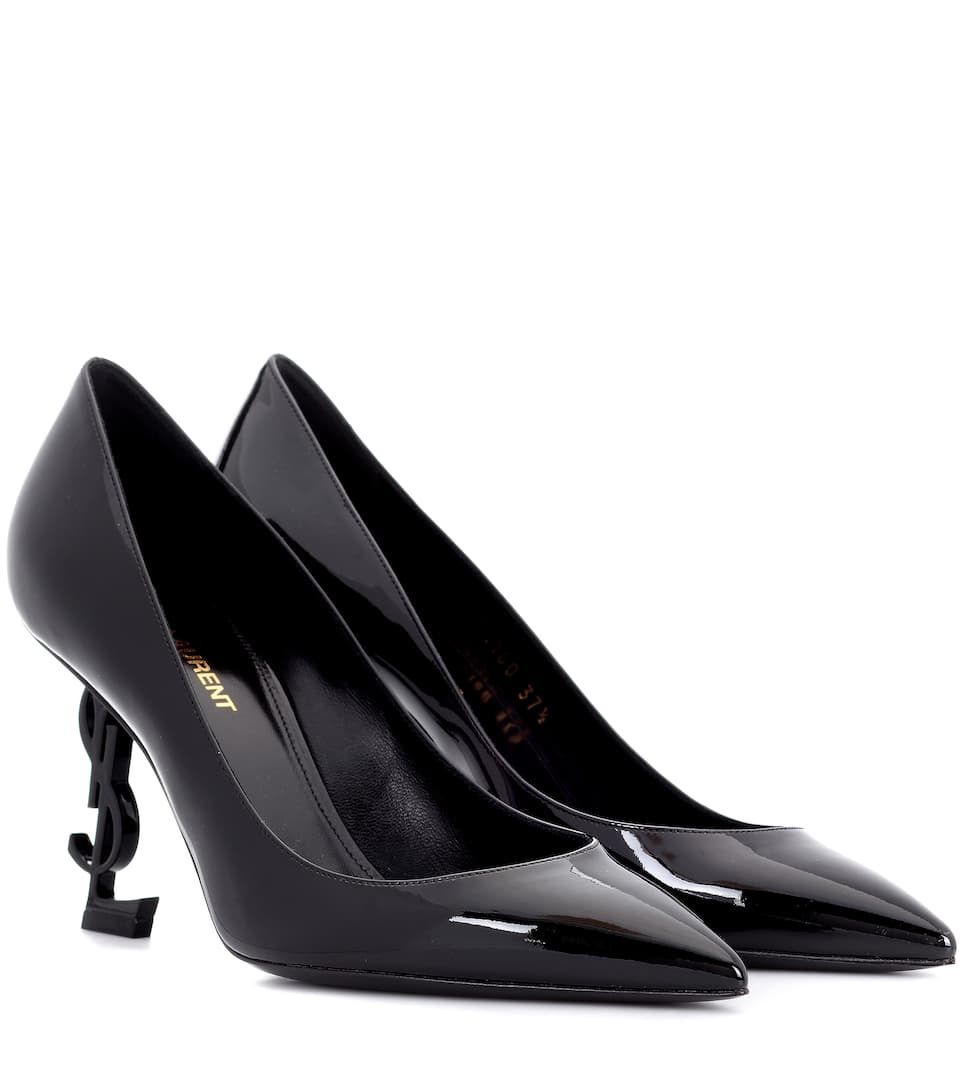 OPYUM 85 PATENT LEATHER PUMPS