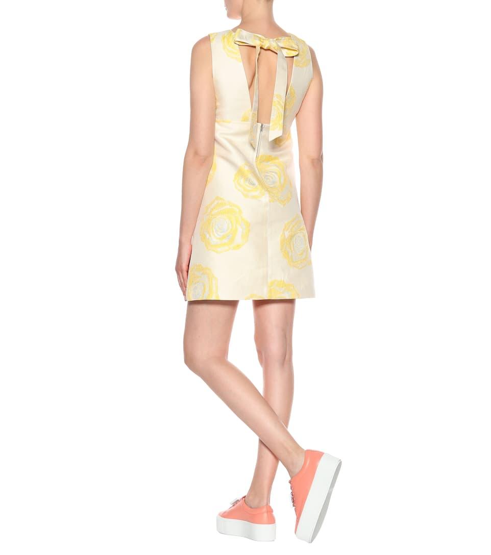 Ganni Kleid Turenne mit Jacquard
