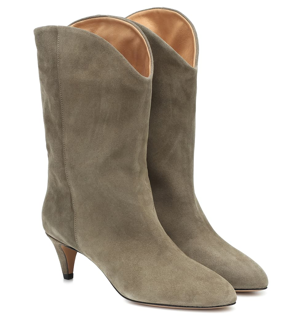 Dernee Suede Ankle Boots by Isabel Marant