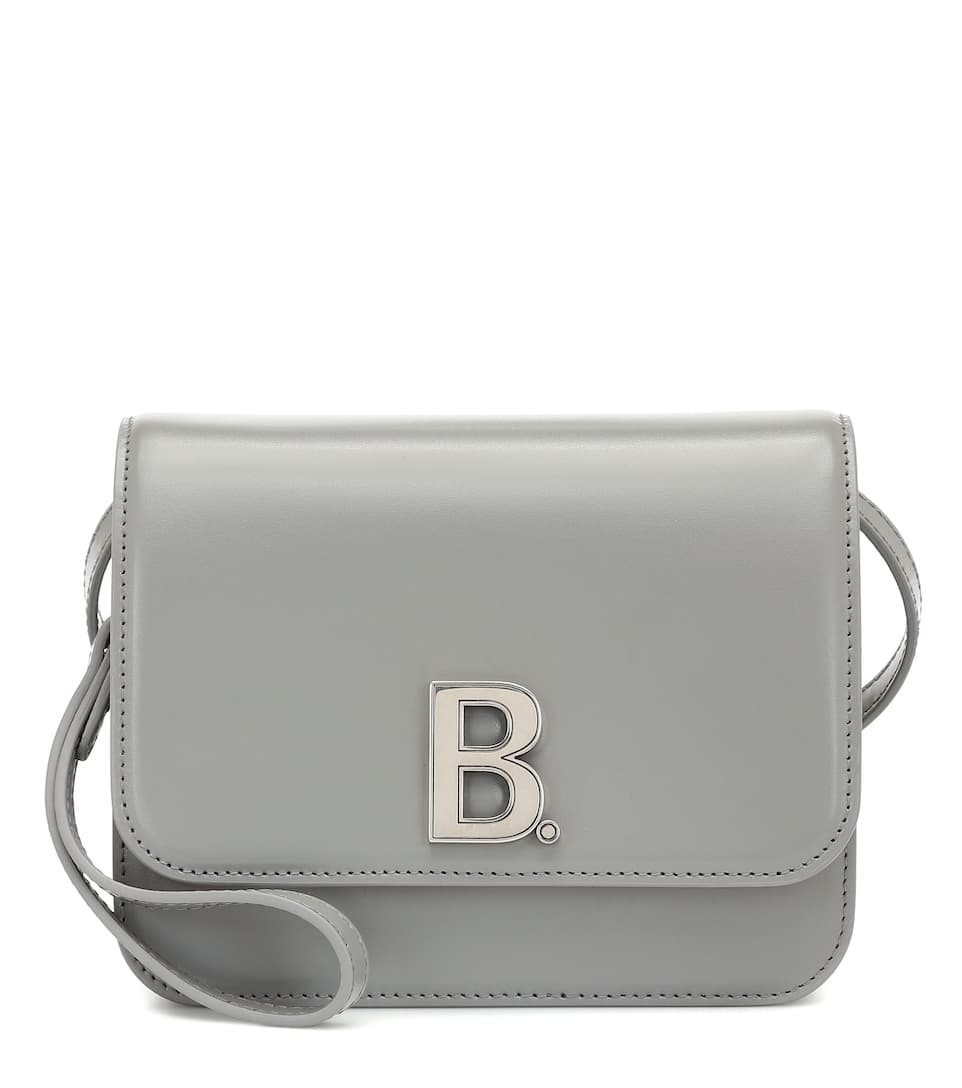 B. Small Leather Shoulder Bag by Balenciaga
