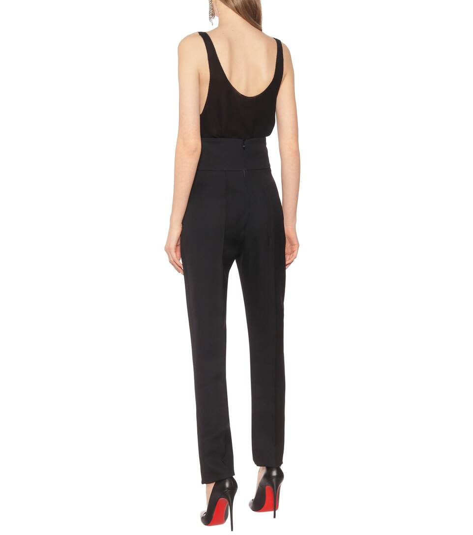 Alexandre Vauthier - High-rise wool pants