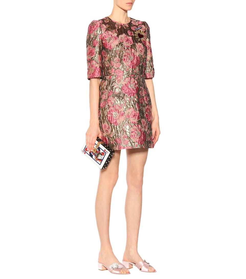 Dolce & Gabbana Kleid aus Brokat