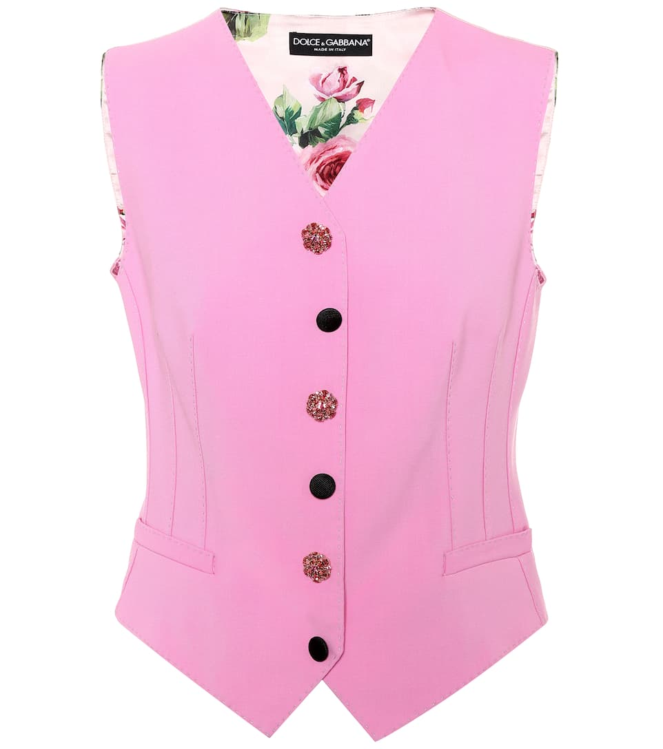 Dolce & Gabbana Vest Made Of A Wool Blend