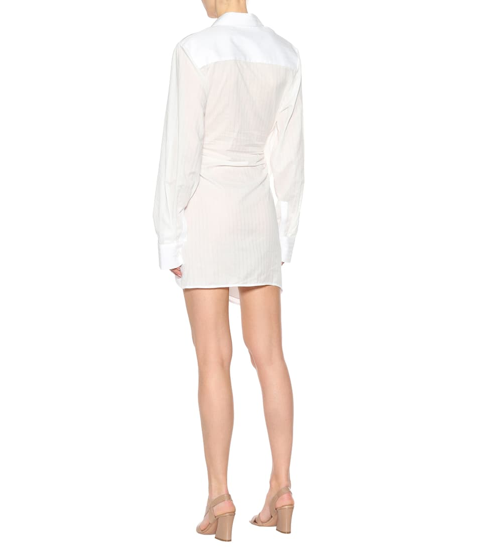 Jacquemus Dress Tunique La Bahia Of Cotton