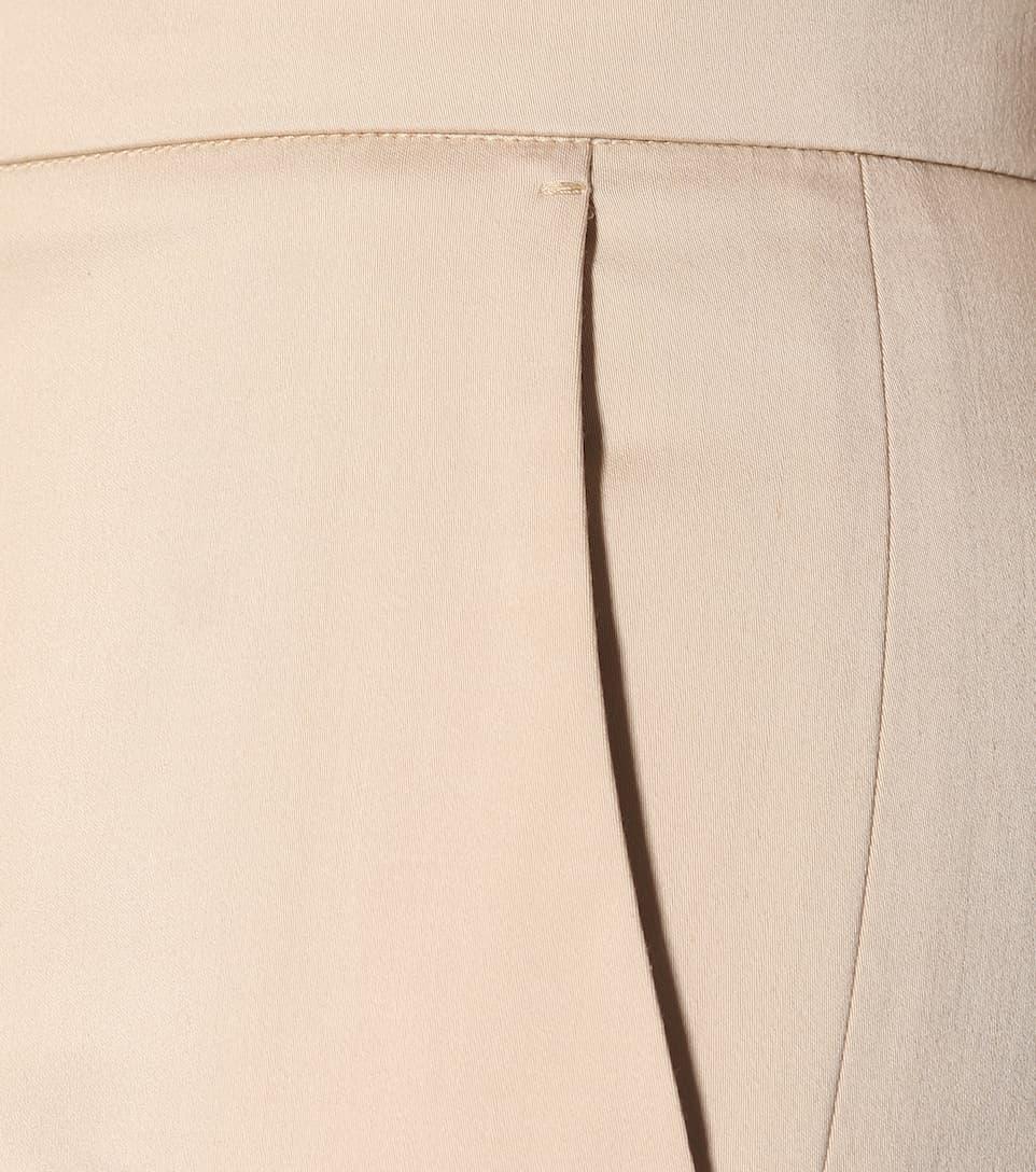 Pantalon Skinny En Coton Max Mara