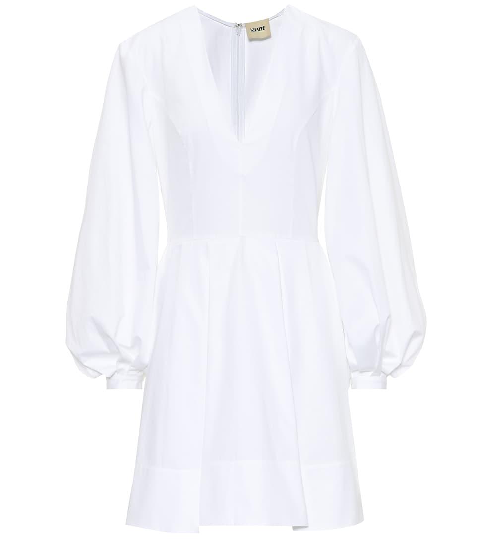 Kleid Denise Aus Baumwolle   Khaite - mytheresa.com cddb1a6988