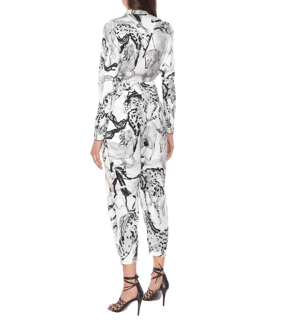 Stella McCartney - Rosalinda printed silk pants